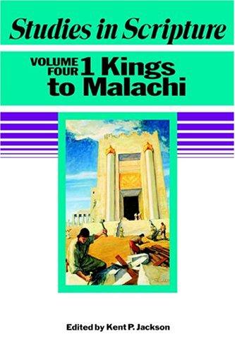 Download Studies in Scripture: 1 Kings to Malachi, Vol. 4 ebook