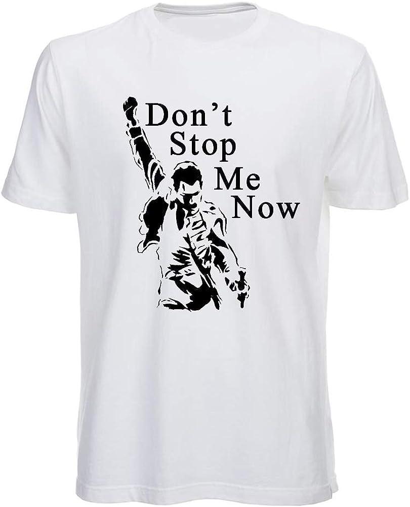 T Shirt Freddie Mercury Queen Dont Stop Me Now Rock Band Maglietta Queen Bohemian Rhapsody