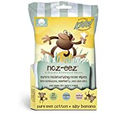 Natural Essentials Noz-eez, Moisturizing Nose Wipes w/Echinacea & Eldeberry, Silly Banana Fragrance, 32-Count