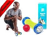 : Foot Massage Roller By RIMSports - Ideal Foot Pain Relief Massager -Foot Massager For Heel Spurs - Effective Roller For Feet Roller Massager -Recommended Foot Massager For Runners (Blue)
