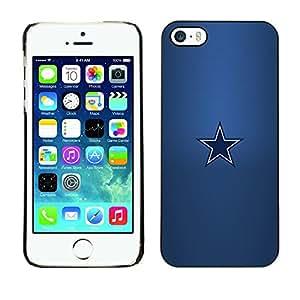 Cubierta protectora del caso de Shell Plástico || iPhone 5 / 5S || Minimalista Estrella @XPTECH