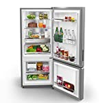 Whirlpool 325 L 2 Star Frost Free Double Door Refrigerator (IFPRO INV CNV 340 2S, Omega Steel, Convertible)