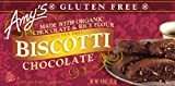 Gluten Free Biscotti by Amy's Kitchen, Chocolate, 4 oz (6)