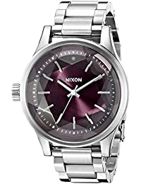 Nixon Women's A4092157 Facet 38 Analog Display Japanese Quartz Silver Watch