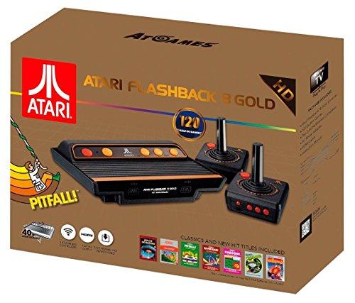 Atari Flashback 8 Gold Console HDMI 120 Games 2 Wireless Controllers