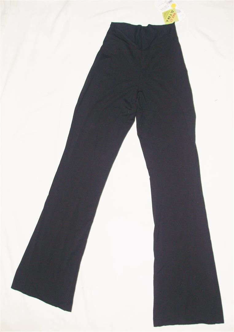 Mondor Black Pant Size 4-6 Dancewear Style1617 5 by Recyclebabe Dancewear