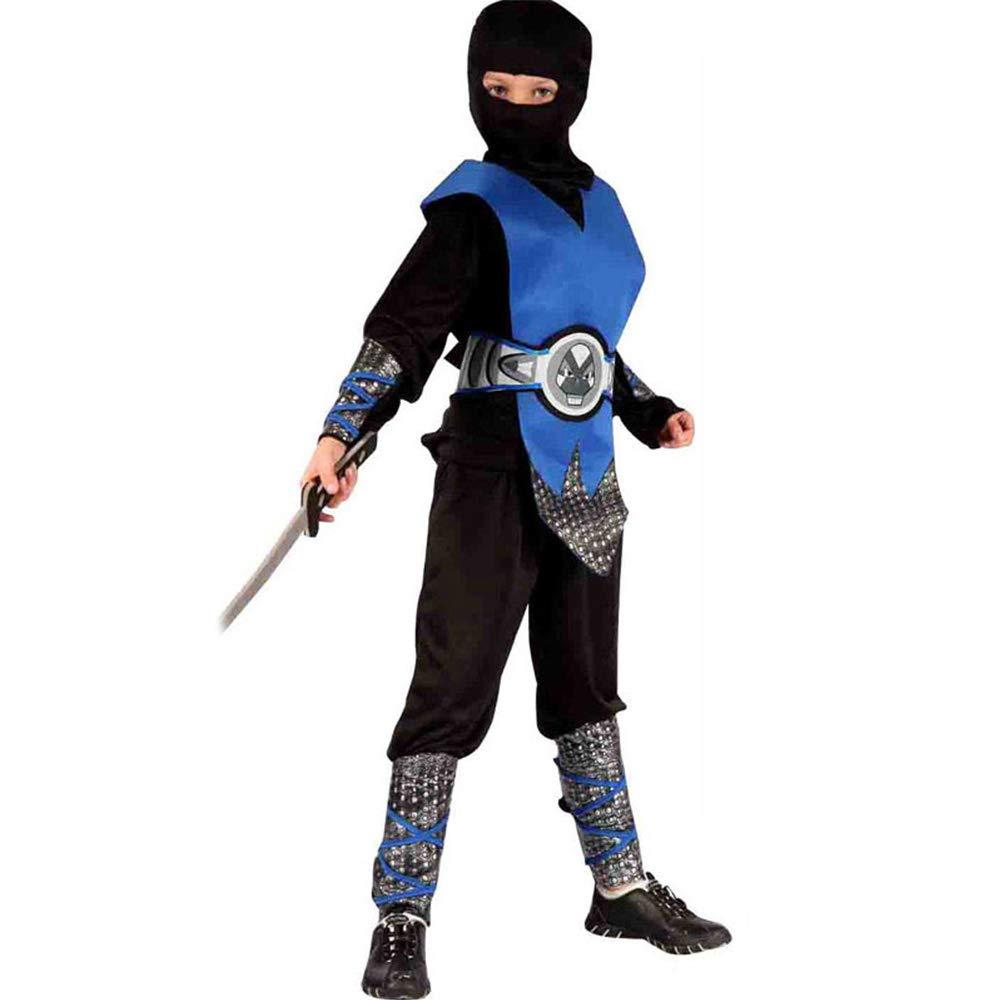 disfraz de Halloween Capa de Halloween - Poliéster, Asesino ninja masculino también vestido, Disfraz de máscara, Adecuado para actuaciones festivas, Fiesta COS, Halloween, Una variedad de estilos disp