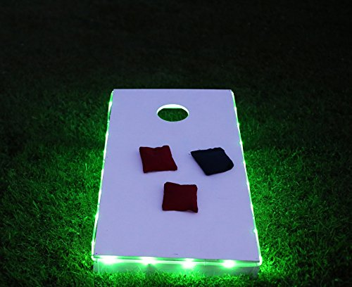 Brightz, Ltd. Green Toss Brightz LED Lights Cornhole Board Accessory