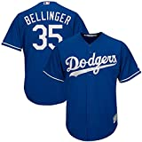 Majestic Cody Bellinger Los Angeles Dodgers MLB Youth Blue Alternate Cool Base Replica Jersey