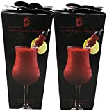 Foxy's Gourmet Daiquiri Drink Mix, Raspberry Rapture, 3.2-Ounce (Pack of 4)