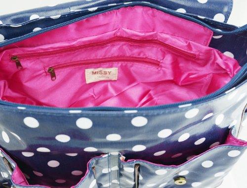DZYNA BAGS - Bolso estilo cartera de sintético para mujer