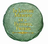 Spoontiques In Loving Memory Stepping Stone