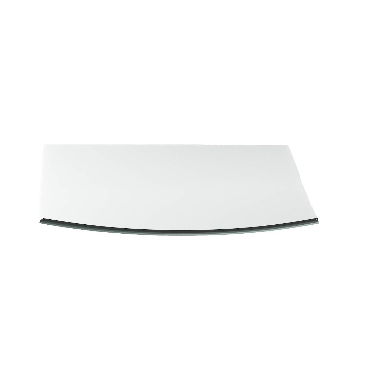 Funkenschutzplatte G7 Rechteck ESG 6mm x 1200mm 1200mm 1200mm x 1000mm mit 18mm Facette Glasplatte Bodenplatte Kaminplatte Funkenschutz Ofenplatte Kaminglas d17b08