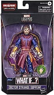 Marvel Legends Series Figura de 15 cm e 1 peça Build-a-Figure - Doctor Strange Supreme - F0333 - Hasbro