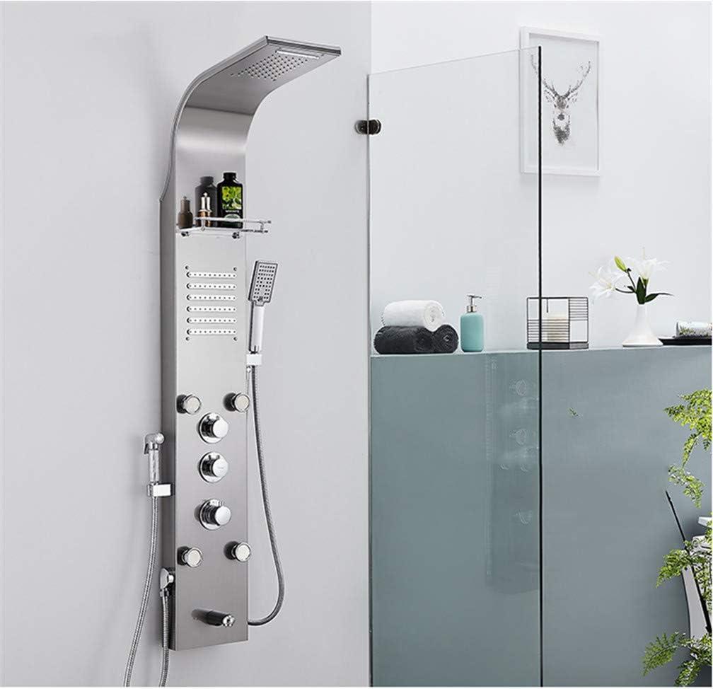 LHY BATHLEADER Sistema de Torre de Panel de Ducha, Temperatura ...