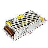 YaeTek 12V DC Switch Power Supply Driver for LED Light , Input: AC110V/220V (12V 10A 120W)