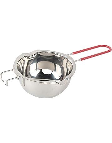 Keby 304 - Boiler de acero inoxidable para derretir ollas para mantequilla, chocolate, caramelo