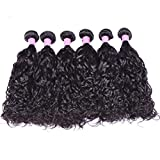 Laixing 1 Bundle Human Haar Extensions Natural Colour Body Wave Hair Weave Weft 1B