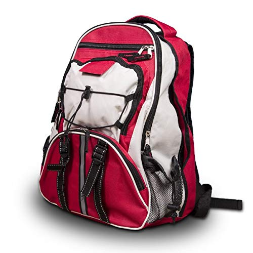 Wise Company Survival Kit, Food and Emergency Supply Backpack, Red by Wise Company (Image #2)