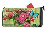 MailWraps Mason Jar Bouquet Mailbox Cover #01094