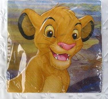 lion-king-party-birthday-napkins-cake-x16-supplies-simba-dessert-decoration-kids-by-lgp