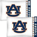 NCAA Auburn Tigers Football Set of Two Pillowcases