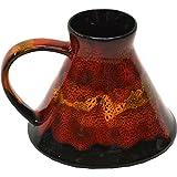 Wide Bottom Travel Mug in Dante's Inferno Glaze