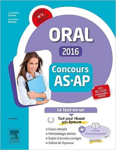 En ligne Concours Aide-soignant et Auxiliaire de puériculture 2016 Epreuve orale Le tout-en-un: Avec livret d'entraînement et vidéos d'entretiens en ligne pdf, epub
