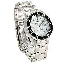 USSSW510A PNP Matt Silver Watchcase Men with Date 100% Taste Stainless Steel Watch