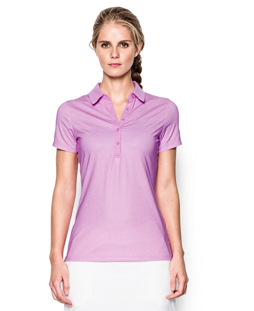Under Armour Ladies Zinger Short Sleeve Novelty Polo Shirt Ladies ...