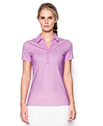 d479947269f3 Image Unavailable. Image not available for. Color  Under Armour Women s UA  Zinger Printed Short Sleeve Polo ...