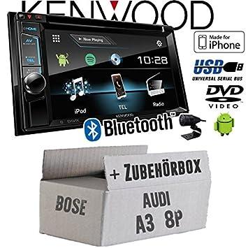 Audi A3 8p 2 Din Bose Kenwood Ddx4017dab 2din Bluetooth Dab