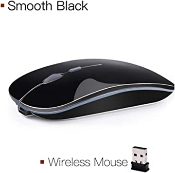 USB Receiver for PC Laptop MAC,Grey BINGFEI 2.4GHz 2400 DPI Wireless Optical Mouse Professional Gamer Mice