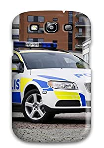 Faddish Phone 2008 Volvo V70 Police Car Case For Galaxy S3 / Perfect Case Cover