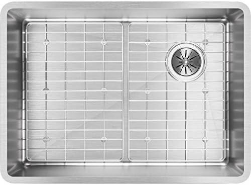 Elkay ECTRU24179RDBG Crosstown Single Bowl Undermount Stainless Steel Sink Kit