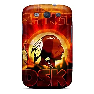 High Impact Dirt/shock Proof Case Cover For Galaxy S3 (washington Redskins)