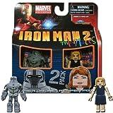 Marvel Minimates Series 35 Hammer Drone & Pepper Potts by Diamond Select
