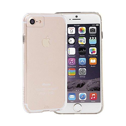 Case-Mate Barely There - Carcasa ultraslim con la tecnología anti-arañazos para Apple iPhone 7 / 6 / 6S, color transparente