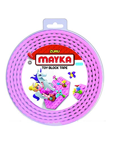 NOPS 2 Meter - MAYKA Block Tape,Pink,Large 2 m