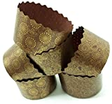 12 oz Panettone Paper Mold | 12 Pack | Round