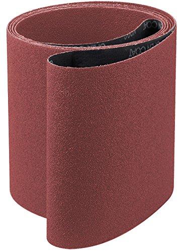 UPC 847667013444, 6x48 Ceramic 36 Grit Sander Belt, y-weight<br>A&H Abrasives 121421