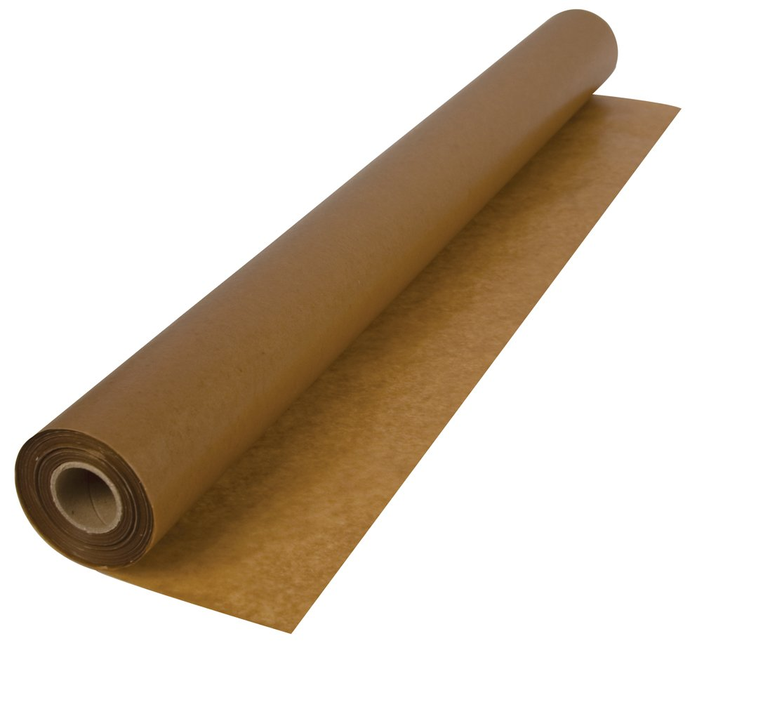 Roberts 70-120 3-Feet x 250-Feet 30-Pound Waxed Paper Underlayment for Wood Floor Installation in 750 Square Feet Roll