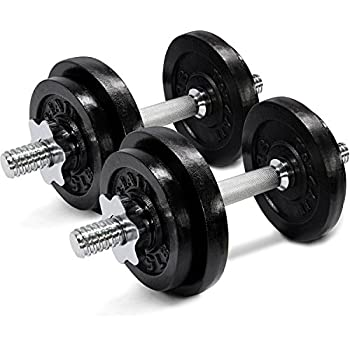 Amazon.com : Yes4All Adjustable Dumbbells 40, 50, 52.5, 60