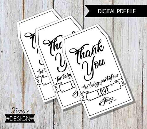 It's just an image of Printable Thank You Tags inside baby shower