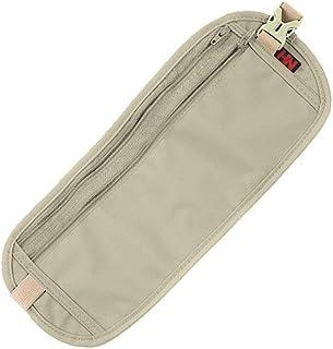 tofern imperméable confortable et durable de voyage Portefeuilles Double poche taille Argent Étui ceinture sous les vêtements de sécurité à