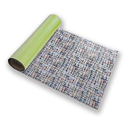 Pastel Pop Art Patchwork Yoga Mat Custom Printed Premium