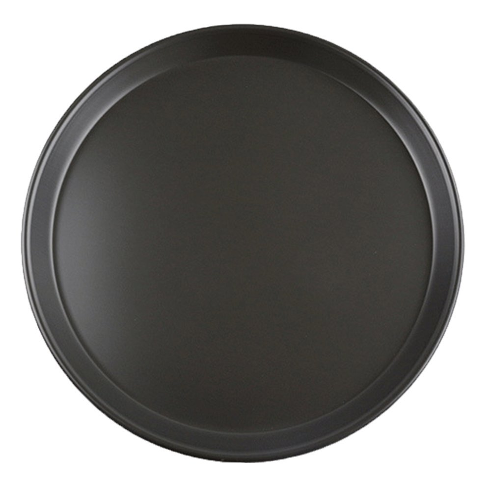Round Baking pan,Pizza Pan,Nonstick Baking Pizza Pans,Heavy Duty Carbon Steel By Chuanyue (12inch Shallow pan)