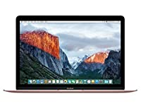 "Apple MacBook (Early 2016) 12"" Notebook, Retina Display, Intel Core M5-6Y54 Dual-Core, 512GB PCI-E SSD, 8GB, 802.11ac, Bluetooth, MacOS 11.4 El Capitan - Rose Gold"