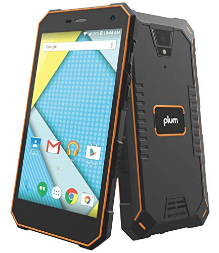 Plum Gator 4 - Rugged Smart Cell Phone Unlocked Android 4G GSM 13 MP Camera 5
