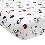 Bedtime Originals Snoopy Sports Sheet